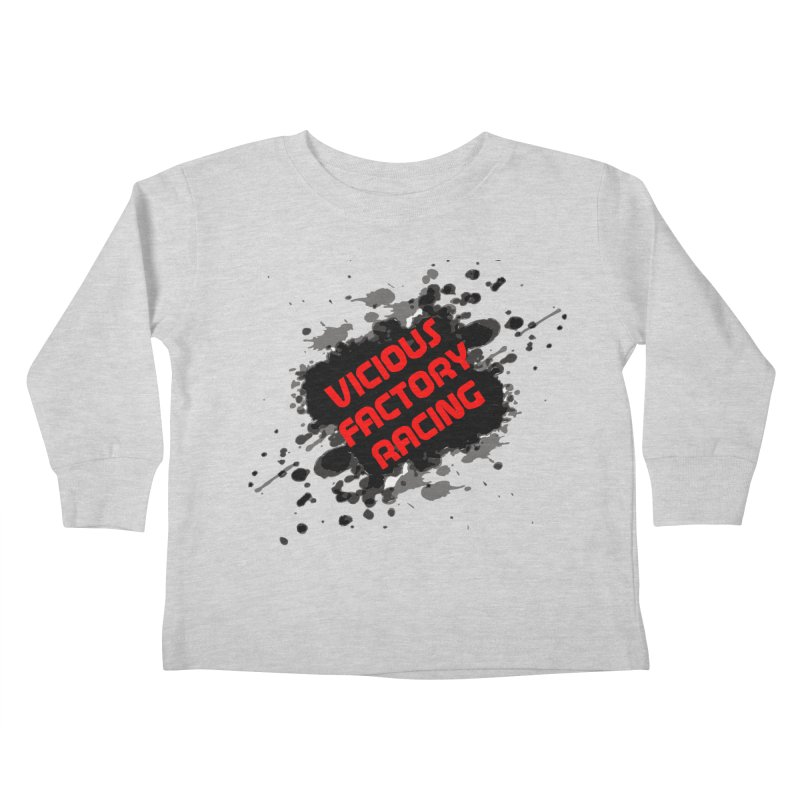 VICIOUS FACTORY RACING Kids Toddler Longsleeve T-Shirt by Vicious Factory
