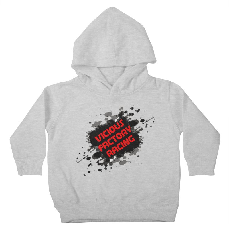 VICIOUS FACTORY RACING Kids Toddler Pullover Hoody by Vicious Factory