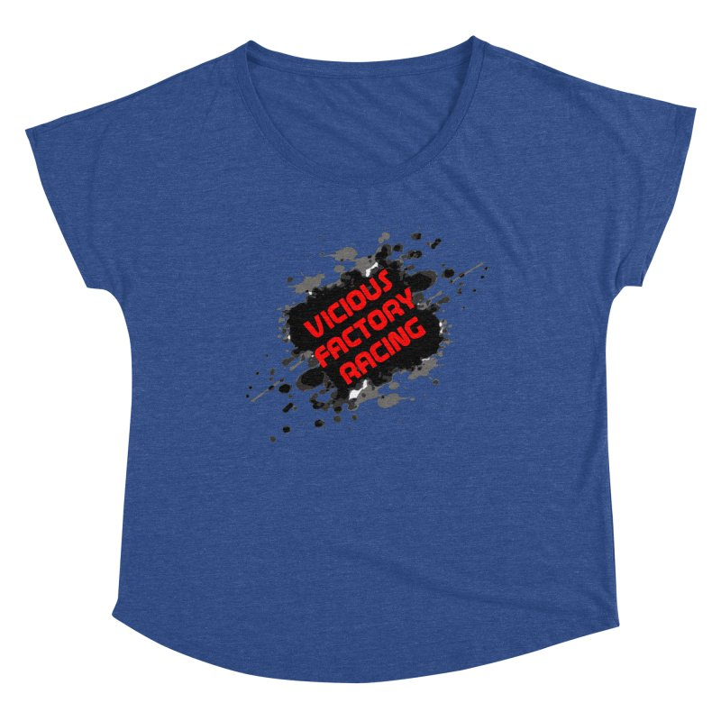 VICIOUS FACTORY RACING Women's Dolman Scoop Neck by Vicious Factory