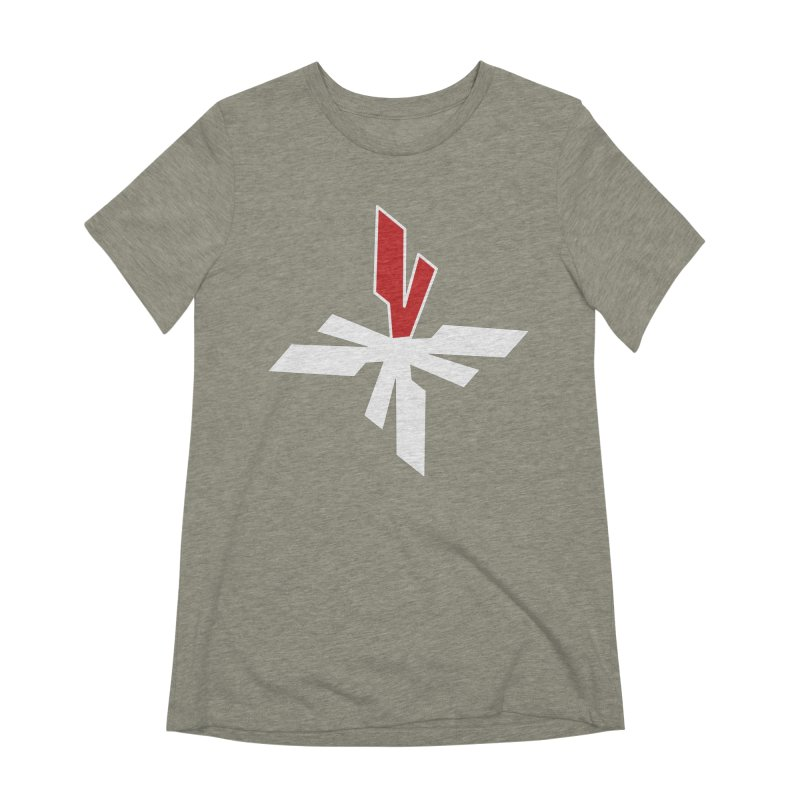 Vicious 4 V Cross Women's Extra Soft T-Shirt by Vicious Factory