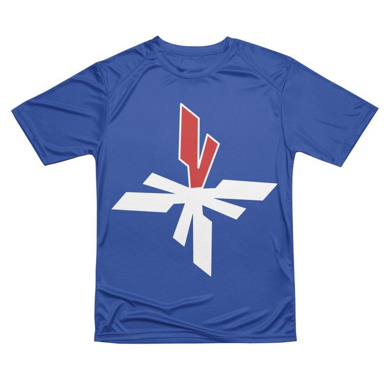 Vicious 4 V Cross Women's Performance Unisex T-Shirt by Vicious Factory