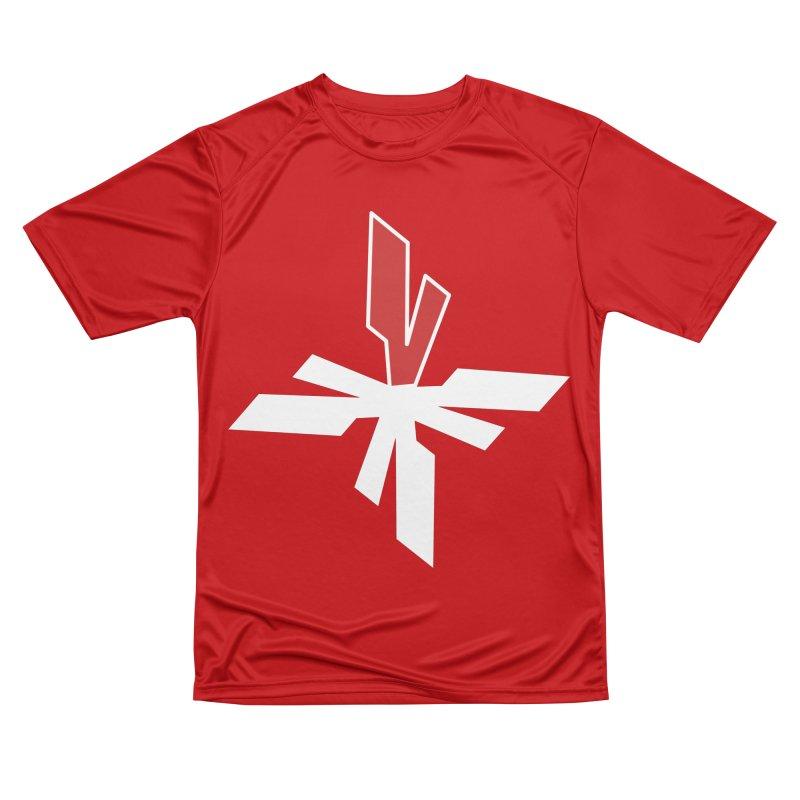 Vicious 4 V Cross Men's Performance T-Shirt by Vicious Factory