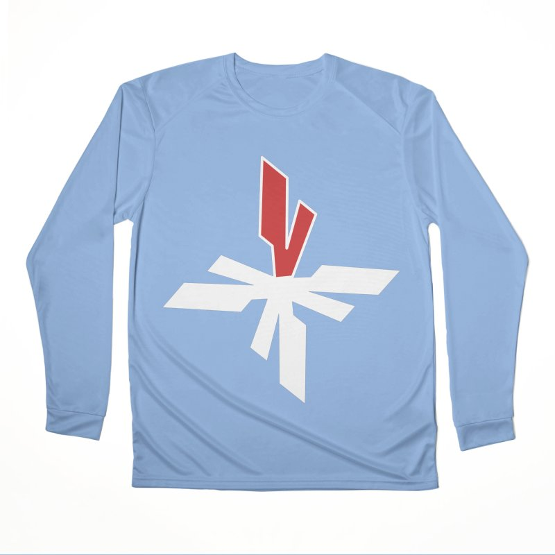 Vicious 4 V Cross Women's Performance Unisex Longsleeve T-Shirt by Vicious Factory