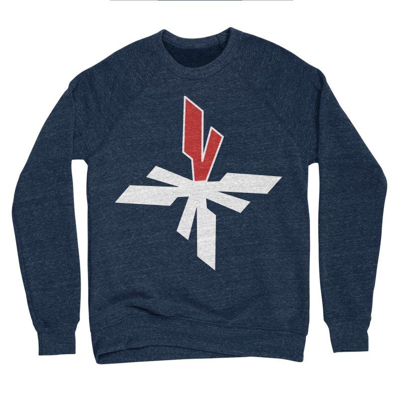 Vicious 4 V Cross Women's Sponge Fleece Sweatshirt by Vicious Factory