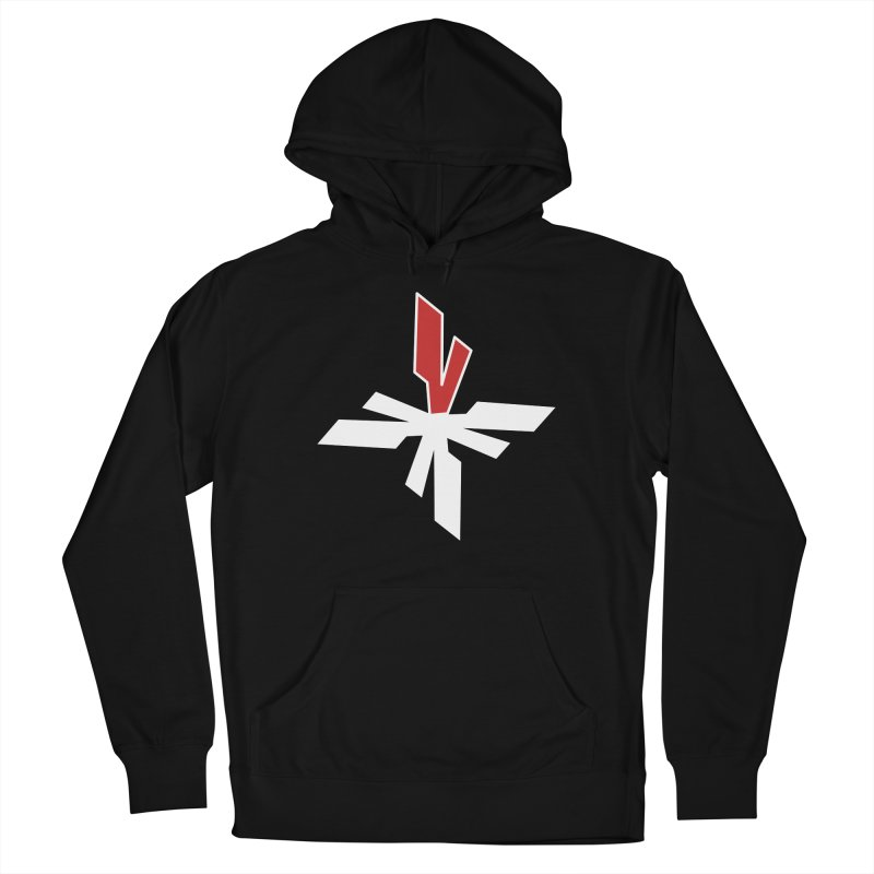 Vicious 4 V Cross Women's French Terry Pullover Hoody by Vicious Factory