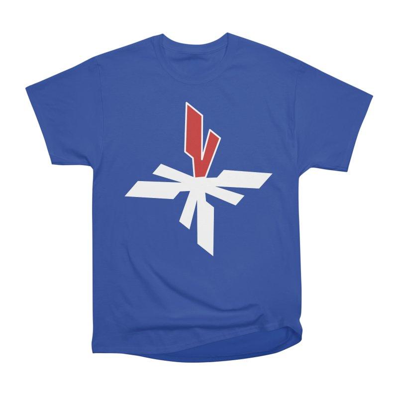 Vicious 4 V Cross Women's Heavyweight Unisex T-Shirt by Vicious Factory
