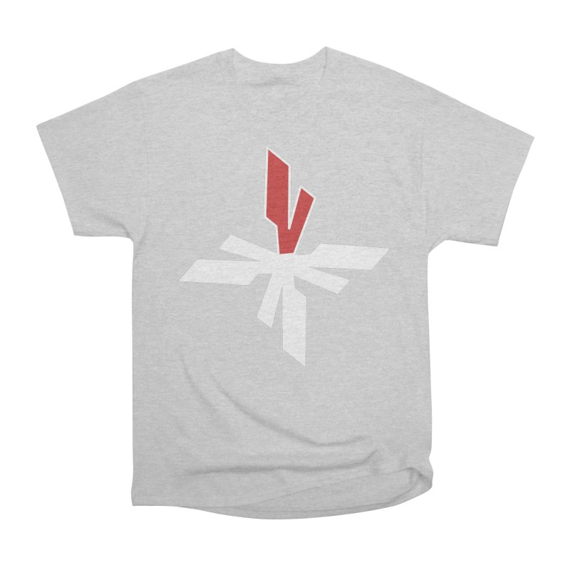 Vicious 4 V Cross Women's Heavyweight Unisex T-Shirt by Vicious Factory