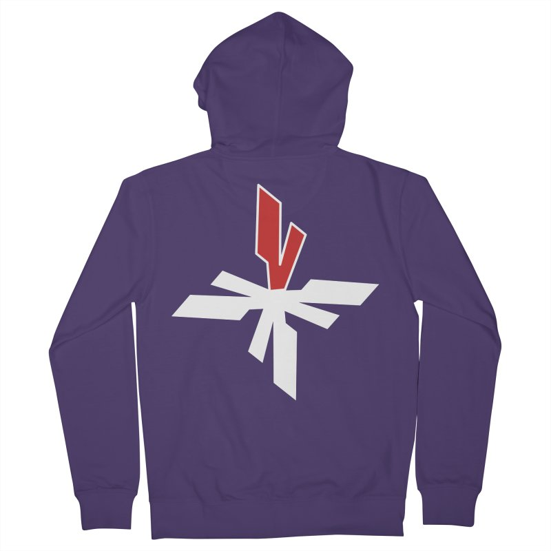 Vicious 4 V Cross Women's French Terry Zip-Up Hoody by Vicious Factory