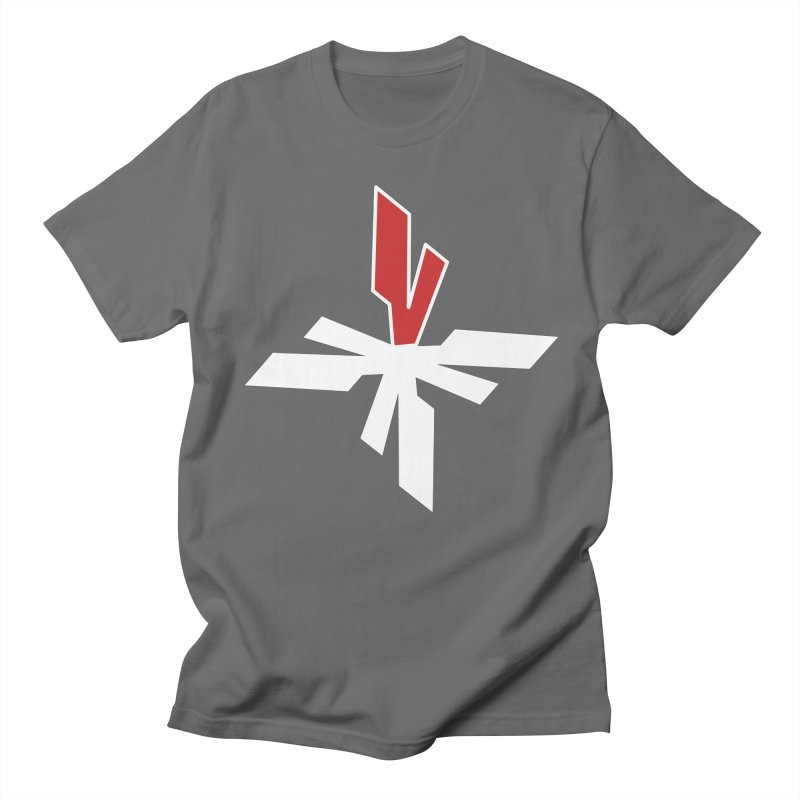 Vicious 4 V Cross Men's T-Shirt by Vicious Factory