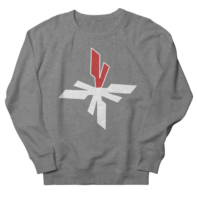 Vicious 4 V Cross Women's French Terry Sweatshirt by Vicious Factory