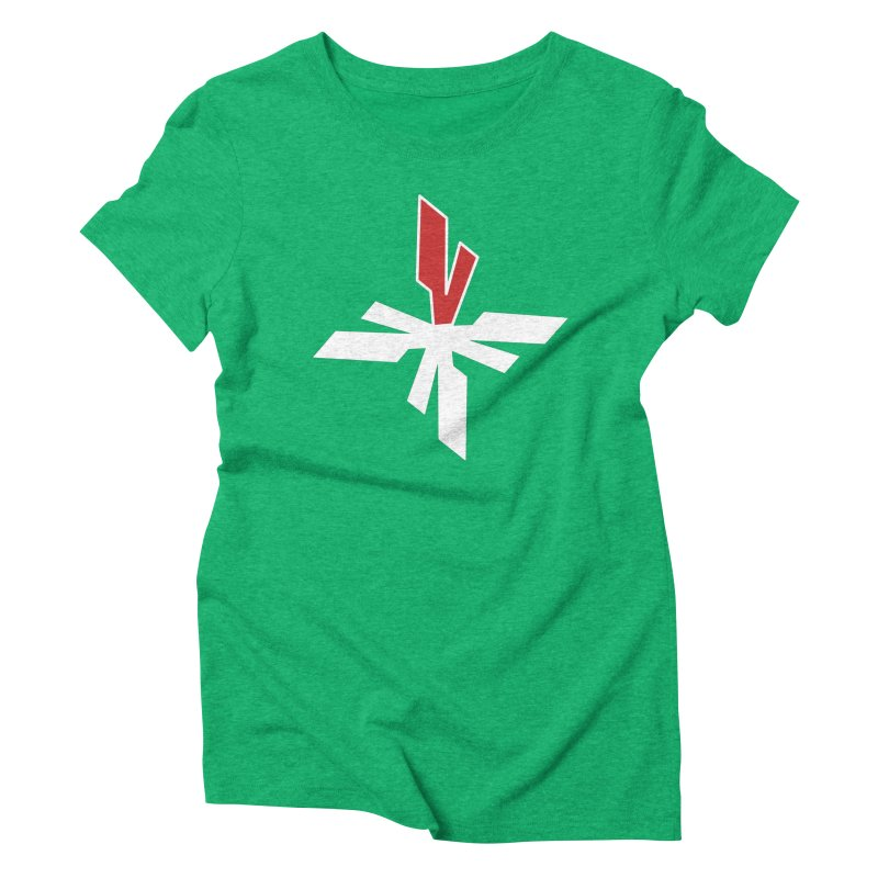 Vicious 4 V Cross Women's Triblend T-Shirt by Vicious Factory