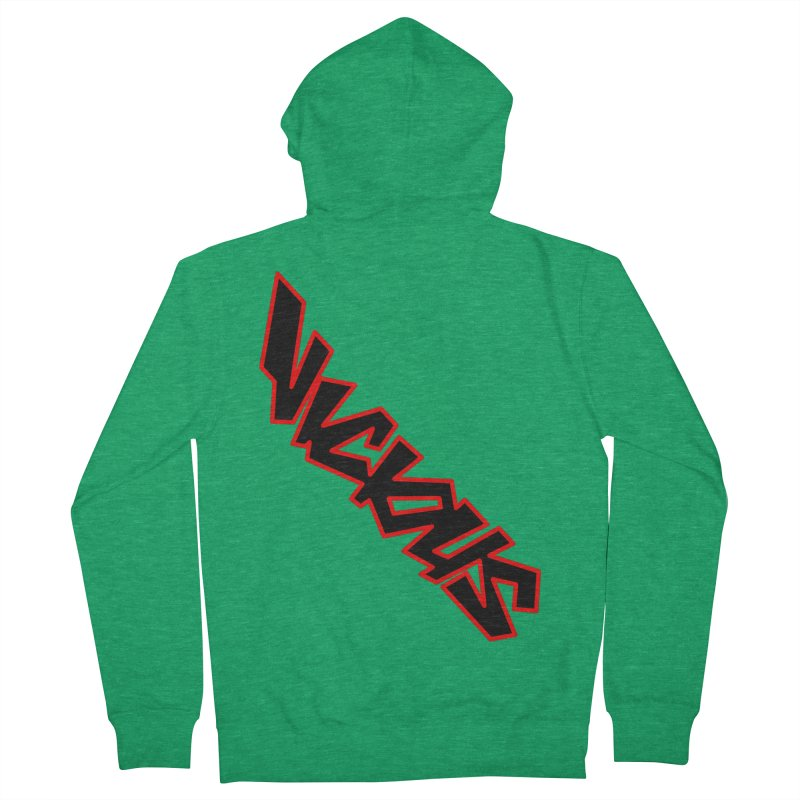 Vicious 1986 Men's French Terry Zip-Up Hoody by Vicious Factory