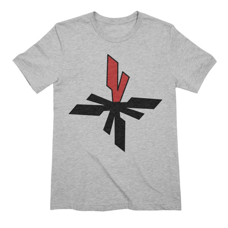 Vicious 4 V Cross Men's Extra Soft T-Shirt by Vicious Factory