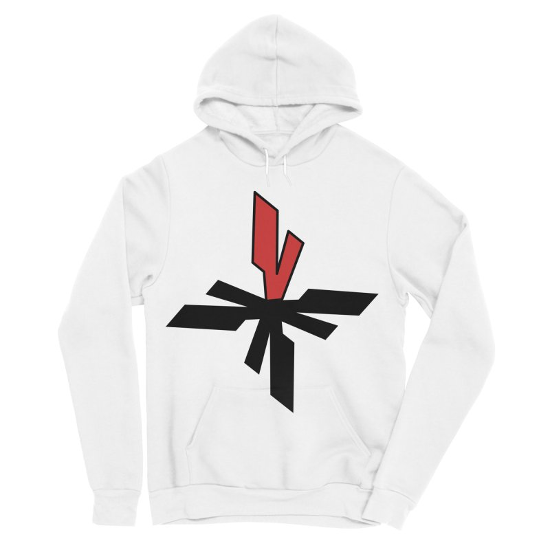 Vicious 4 V Cross Men's Sponge Fleece Pullover Hoody by Vicious Factory