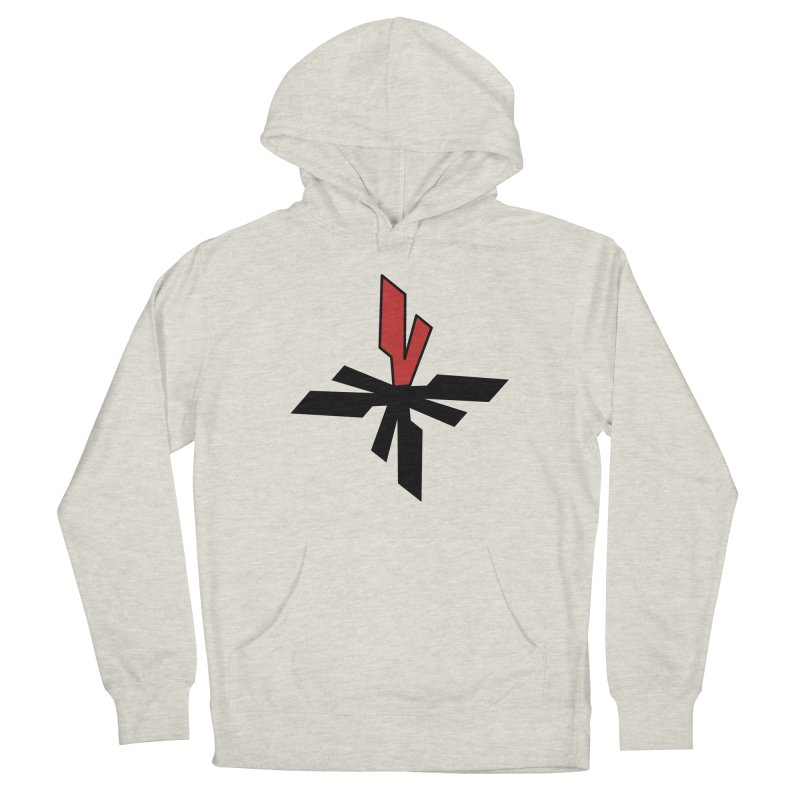 Vicious 4 V Cross Men's French Terry Pullover Hoody by Vicious Factory