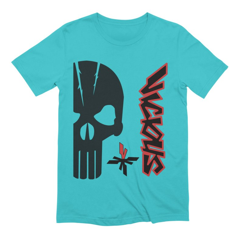 Vicious Punisher Men's Extra Soft T-Shirt by Vicious Factory