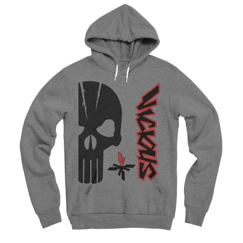 Vicious Punisher Women's Sponge Fleece Pullover Hoody by Vicious Factory