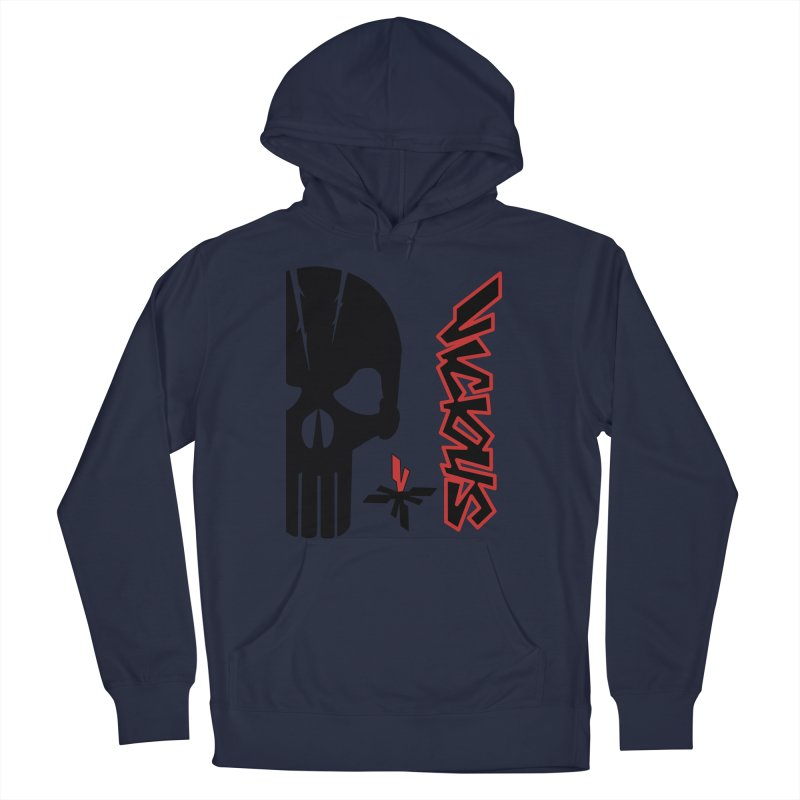 Vicious Punisher Women's French Terry Pullover Hoody by Vicious Factory