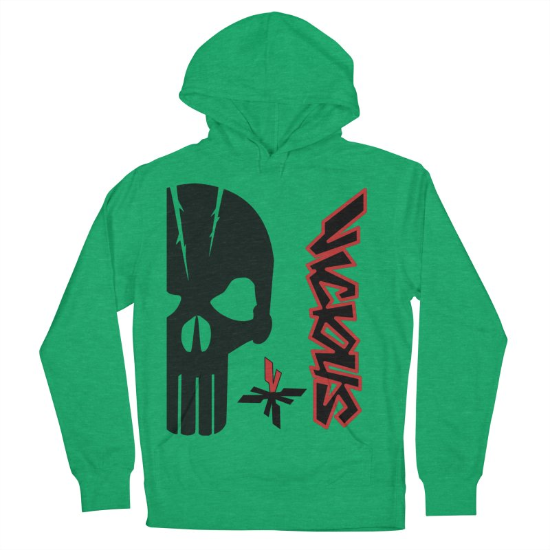 Vicious Punisher Men's French Terry Pullover Hoody by Vicious Factory