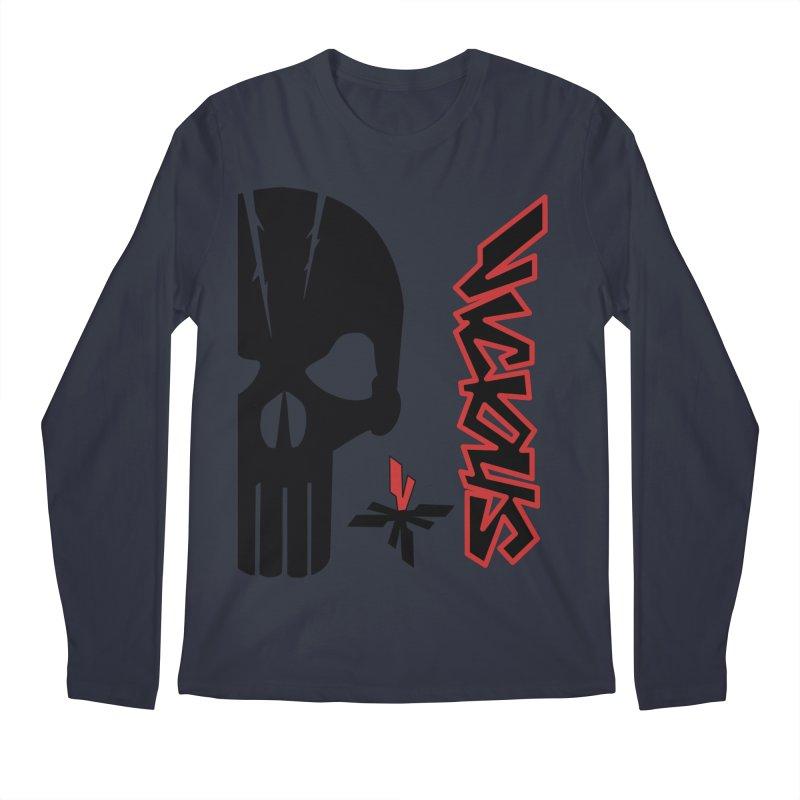 Vicious Punisher Men's Regular Longsleeve T-Shirt by Vicious Factory