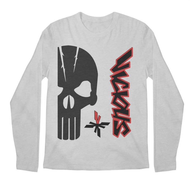 Vicious Punisher Men's Regular Longsleeve T-Shirt by Vicious Factory
