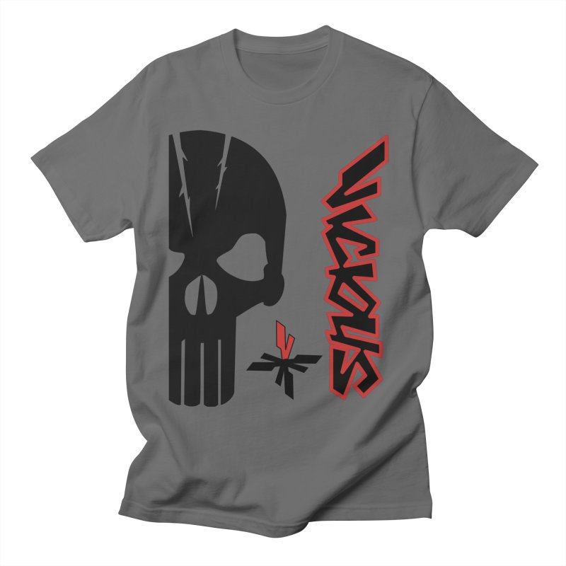 Vicious Punisher Men's T-Shirt by Vicious Factory