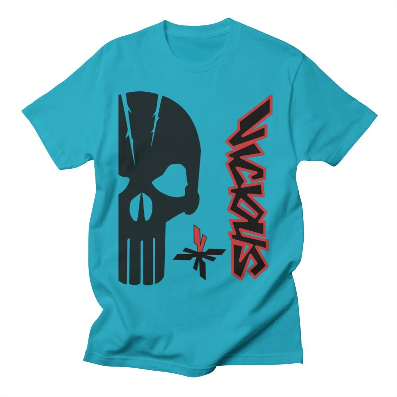Vicious Punisher Men's Regular T-Shirt by Vicious Factory