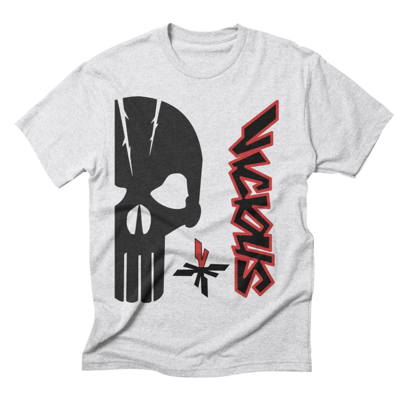 Vicious Punisher Men's Triblend T-Shirt by Vicious Factory
