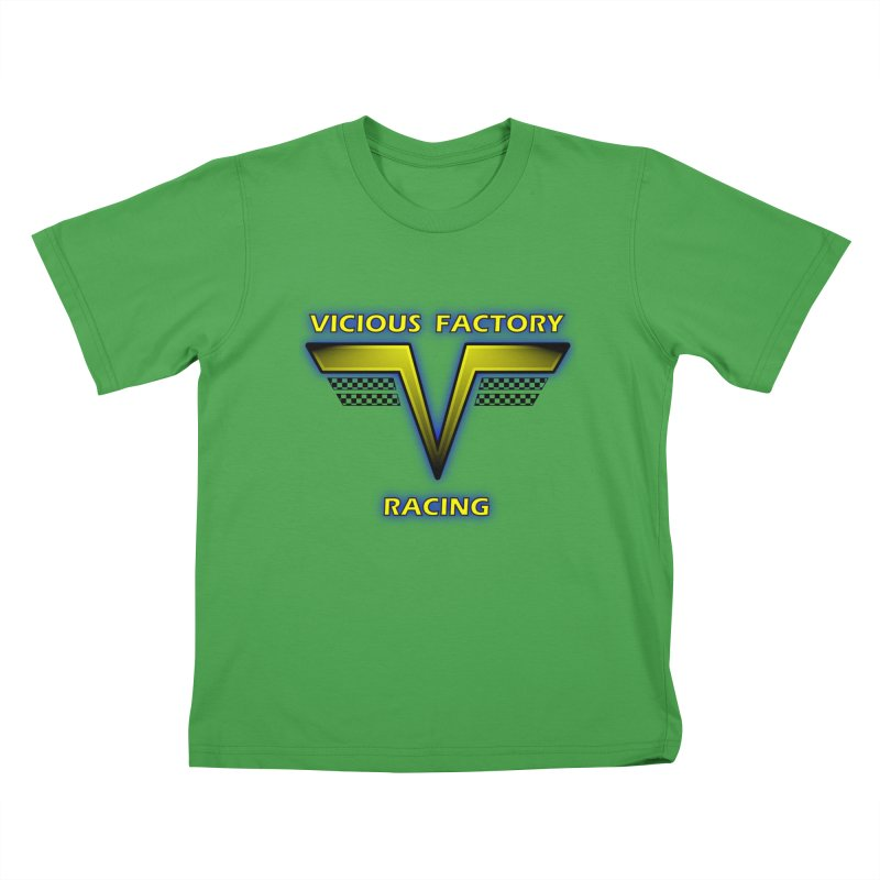 Vicious Flying V Kids T-Shirt by Vicious Factory