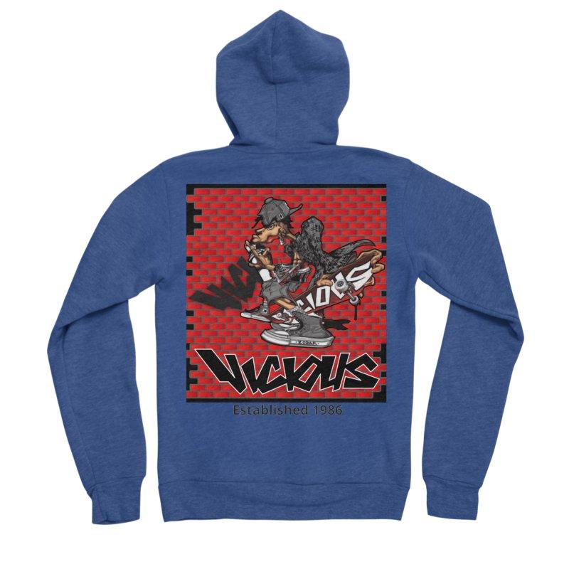 Zodak 1986 Men's Sponge Fleece Zip-Up Hoody by Vicious Factory
