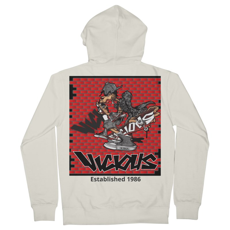 Zodak 1986 Men's French Terry Zip-Up Hoody by Vicious Factory