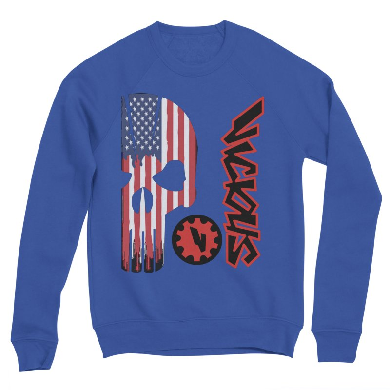 Made in the USA Men's Sweatshirt by Vicious Factory