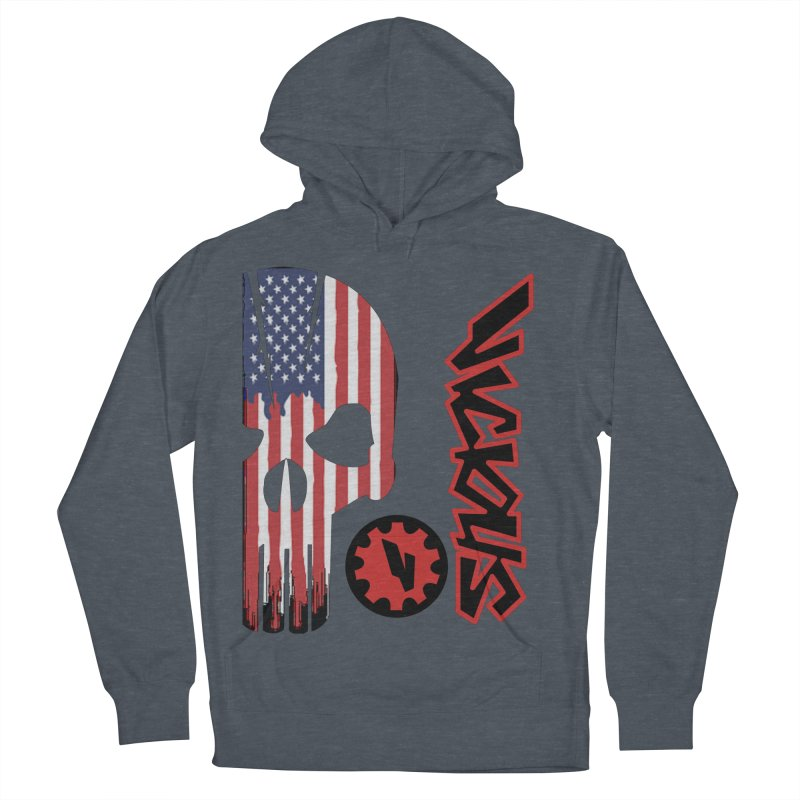 Made in the USA Men's French Terry Pullover Hoody by Vicious Factory