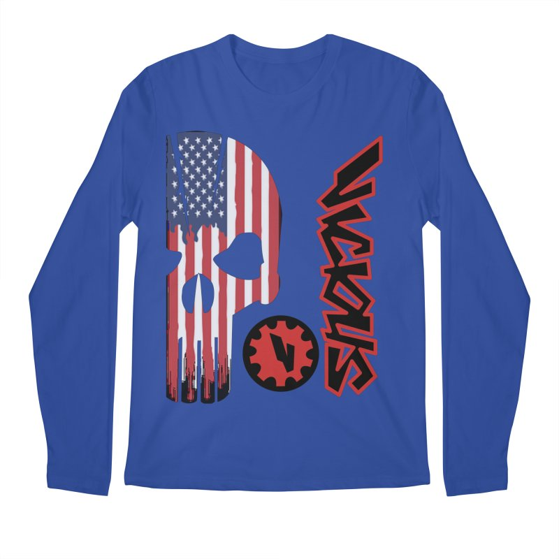 Made in the USA Men's Regular Longsleeve T-Shirt by Vicious Factory