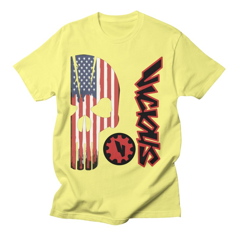 Made in the USA Men's Regular T-Shirt by Vicious Factory