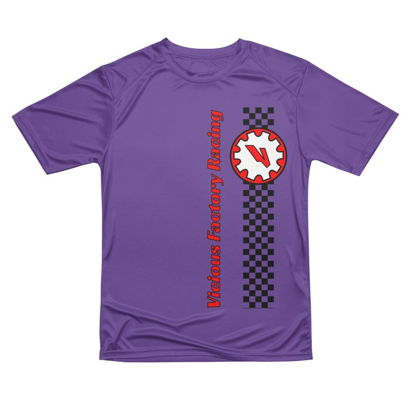 Vicious Factory Racing Gear Men's Performance T-Shirt by Vicious Factory
