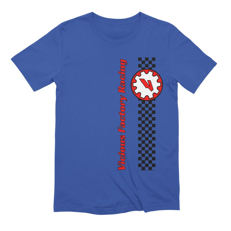 Vicious Factory Racing Gear Men's Extra Soft T-Shirt by Vicious Factory