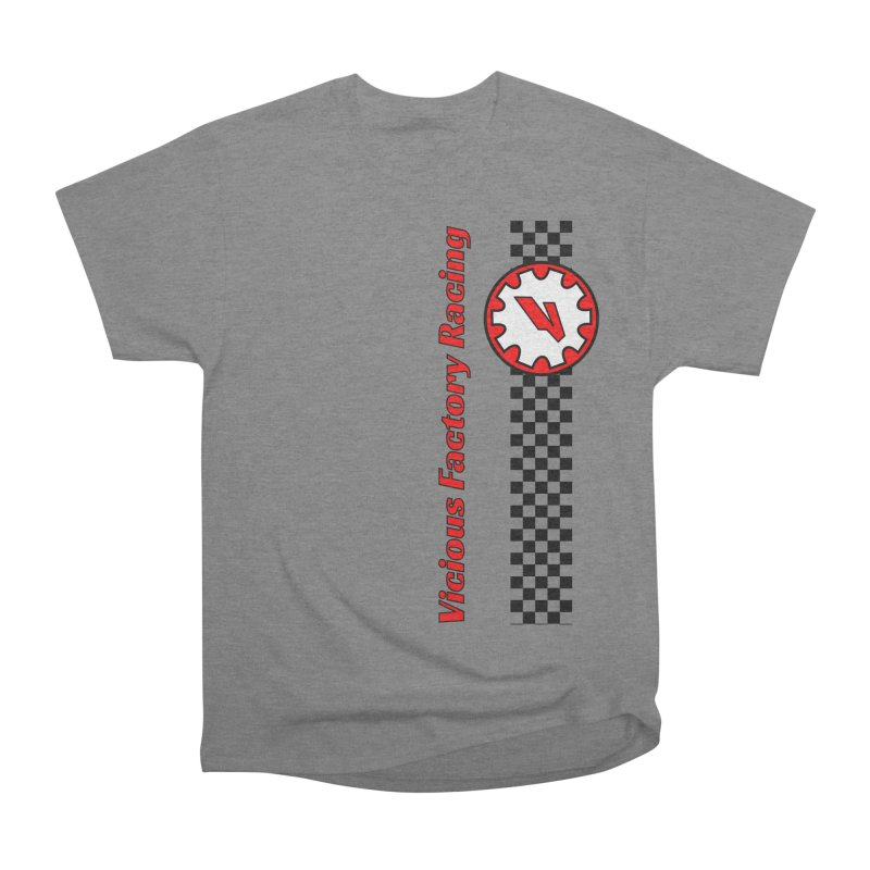 Vicious Factory Racing Gear Men's Heavyweight T-Shirt by Vicious Factory