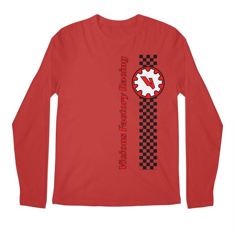 Vicious Factory Racing Gear Men's Regular Longsleeve T-Shirt by Vicious Factory