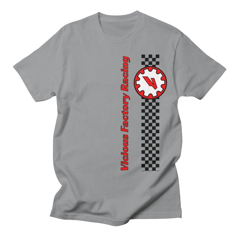 Vicious Factory Racing Gear Men's Regular T-Shirt by Vicious Factory