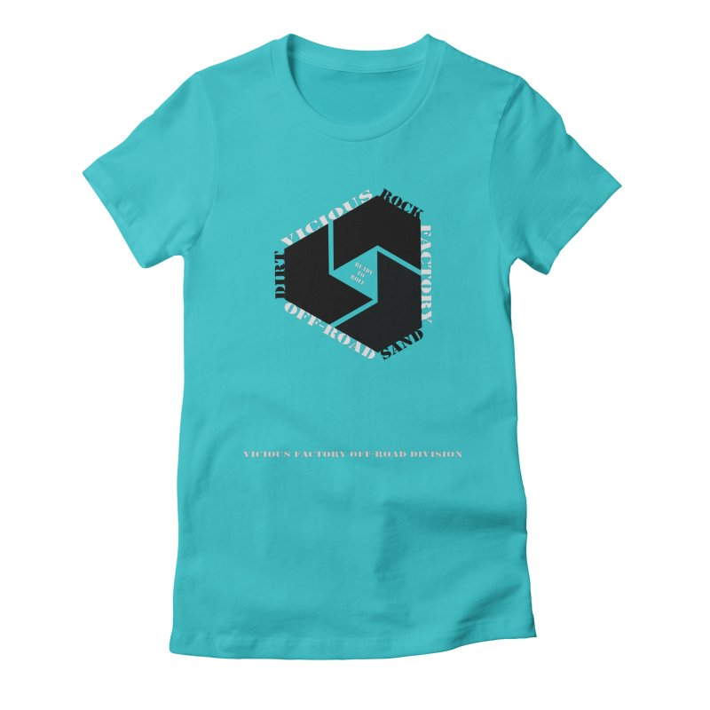 VICIOUS FACTORY OFF-ROAD DIVISION 2020 Women's Fitted T-Shirt by Vicious Factory