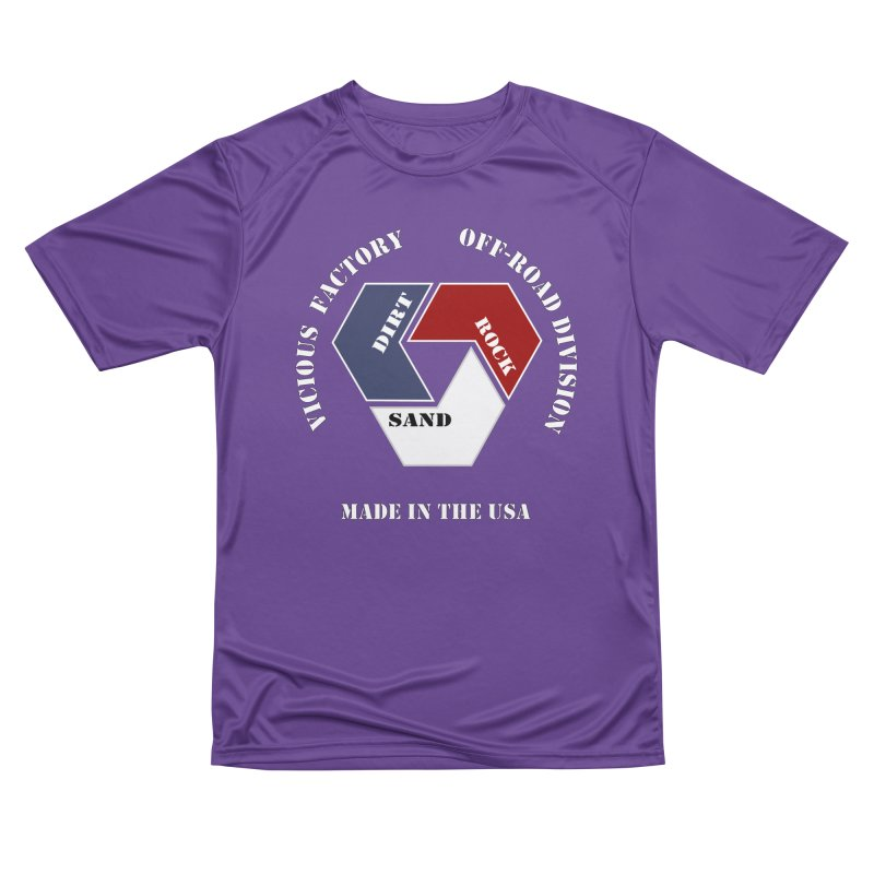 VICIOUS FACTORY OFF-ROAD  MADE IN THE USA Women's Performance Unisex T-Shirt by Vicious Factory