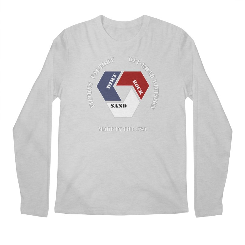 VICIOUS FACTORY OFF-ROAD  MADE IN THE USA Men's Regular Longsleeve T-Shirt by Vicious Factory
