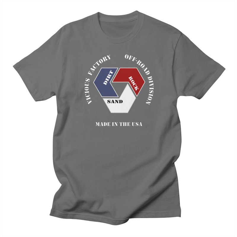 VICIOUS FACTORY OFF-ROAD  MADE IN THE USA Women's T-Shirt by Vicious Factory