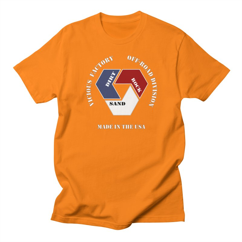 VICIOUS FACTORY OFF-ROAD  MADE IN THE USA Men's Regular T-Shirt by Vicious Factory