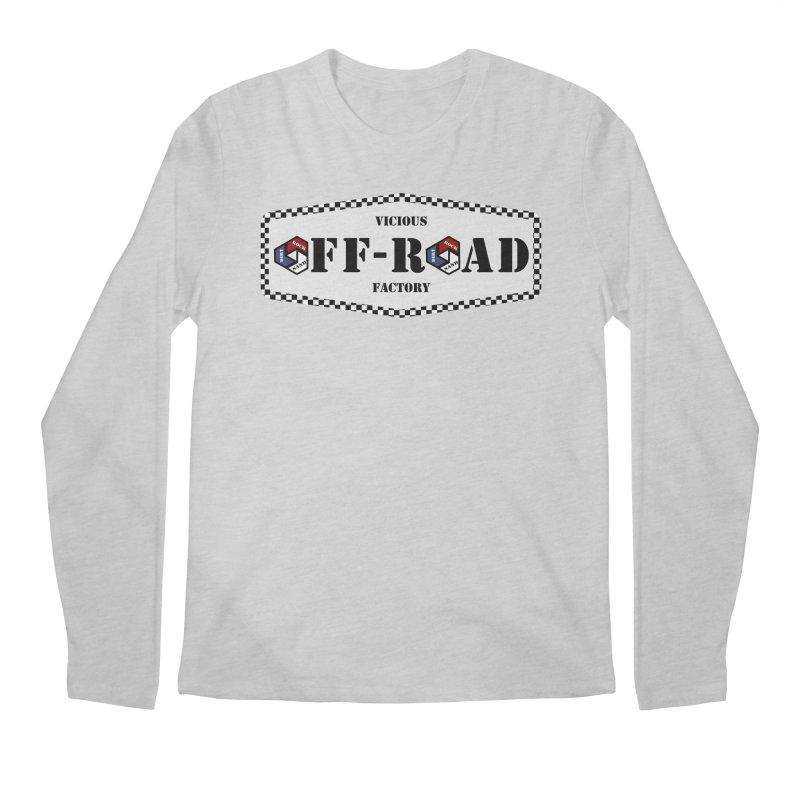 VICIOUS FACTORY OFF-ROAD LEGENDS Men's Regular Longsleeve T-Shirt by Vicious Factory