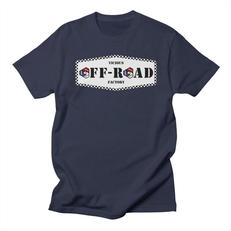VICIOUS FACTORY OFF-ROAD LEGENDS Men's Regular T-Shirt by Vicious Factory