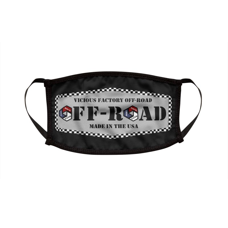 VICIOUS FACTORY OFF-ROAD VINTAGE Accessories Face Mask by Vicious Factory