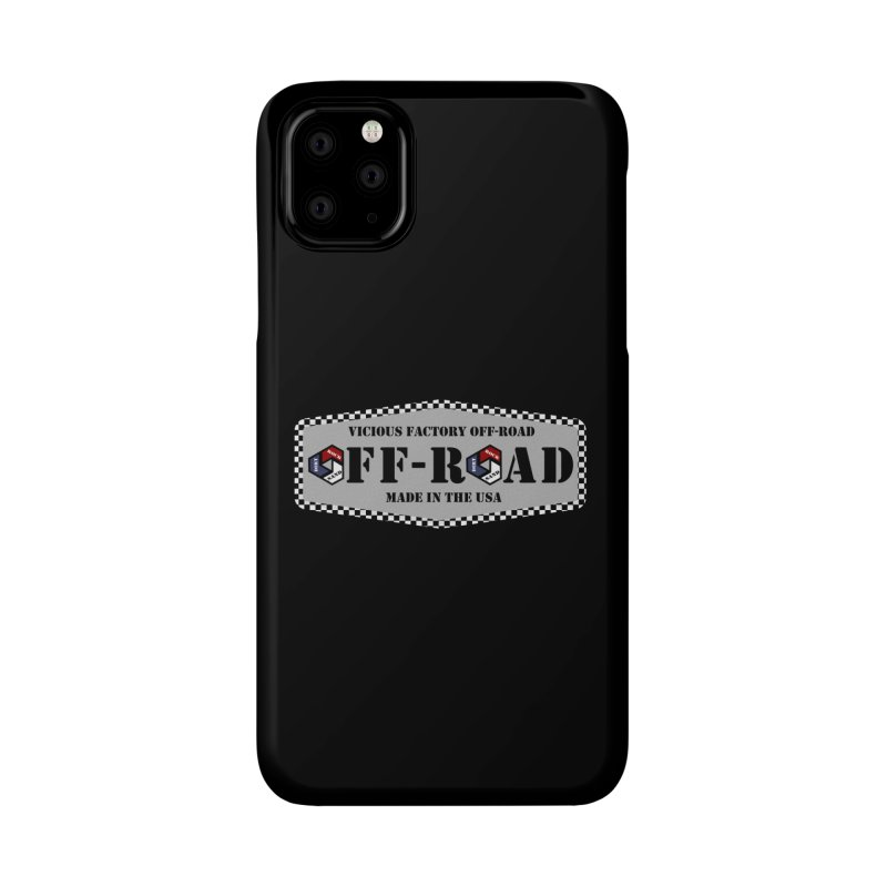 VICIOUS FACTORY OFF-ROAD VINTAGE Accessories Phone Case by Vicious Factory