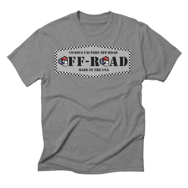 VICIOUS FACTORY OFF-ROAD VINTAGE Men's Triblend T-Shirt by Vicious Factory